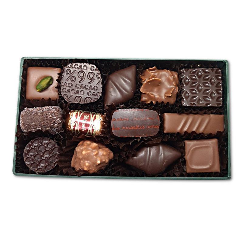 ballotin Ingres chocolats 250 grammes