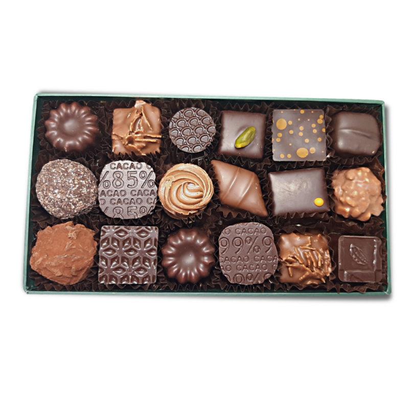 ballotin chocolats 375 grammes