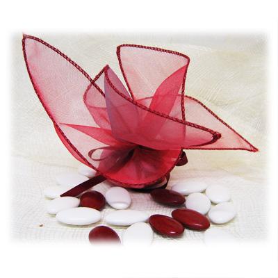 Tulle papillon - Vide - Framboise