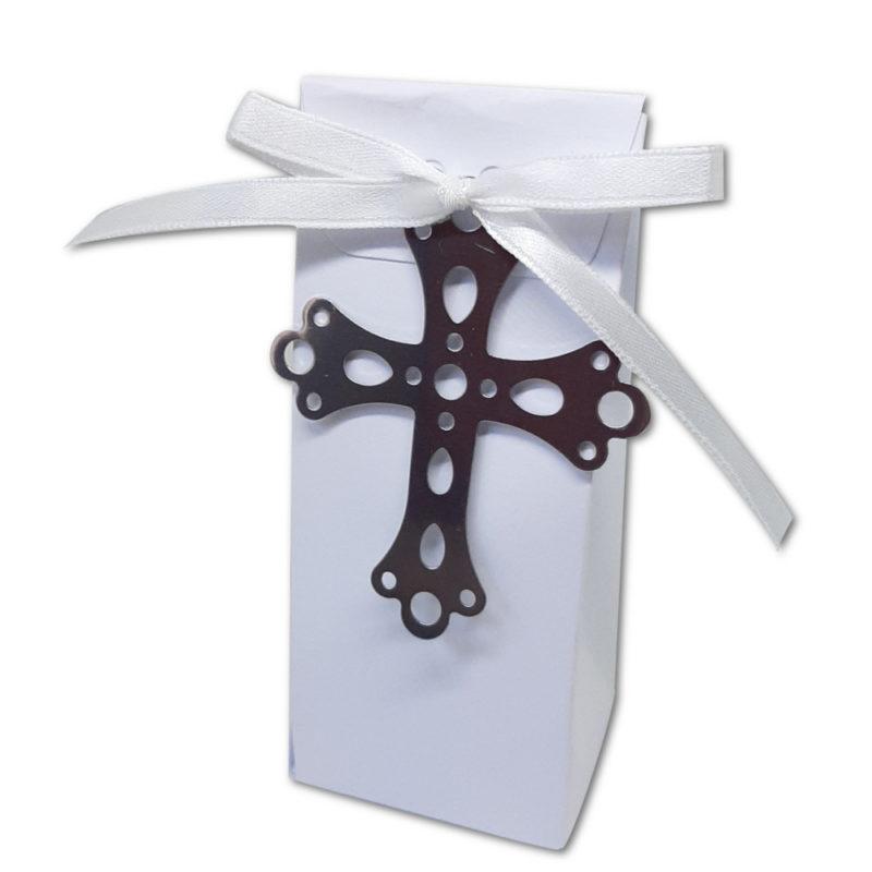 Boîte haute blanche+croix
