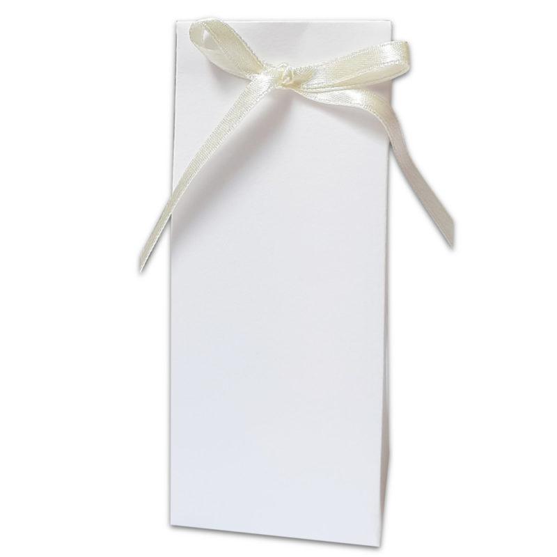 Boîte haute blanche