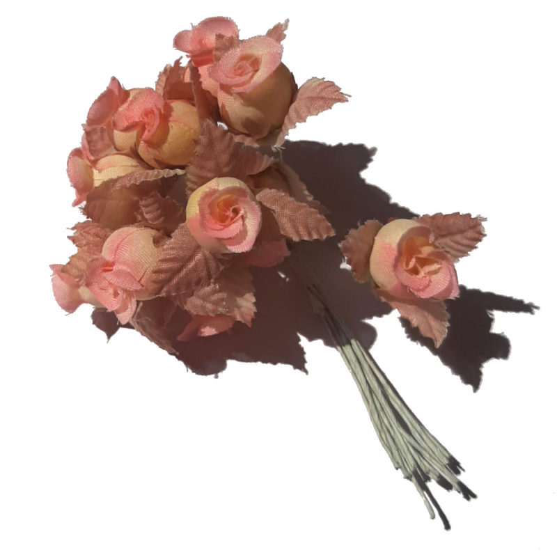 fleur rose vieux rose