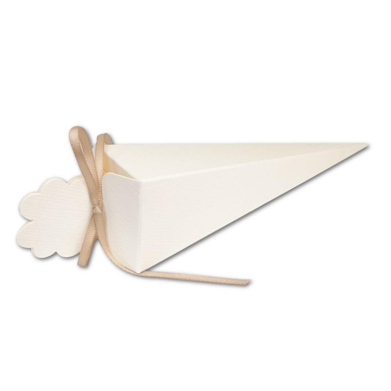 cornet ivoire carton