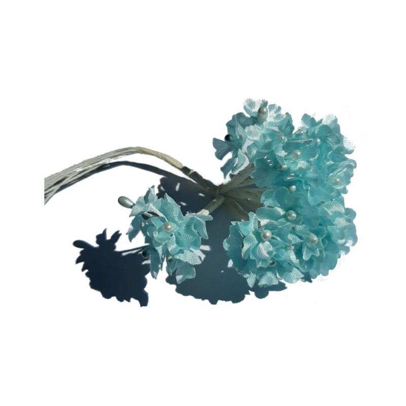 fleur myosotis bleu
