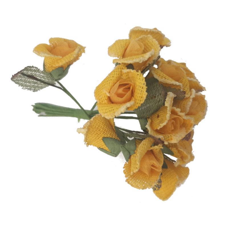rose jute jaune