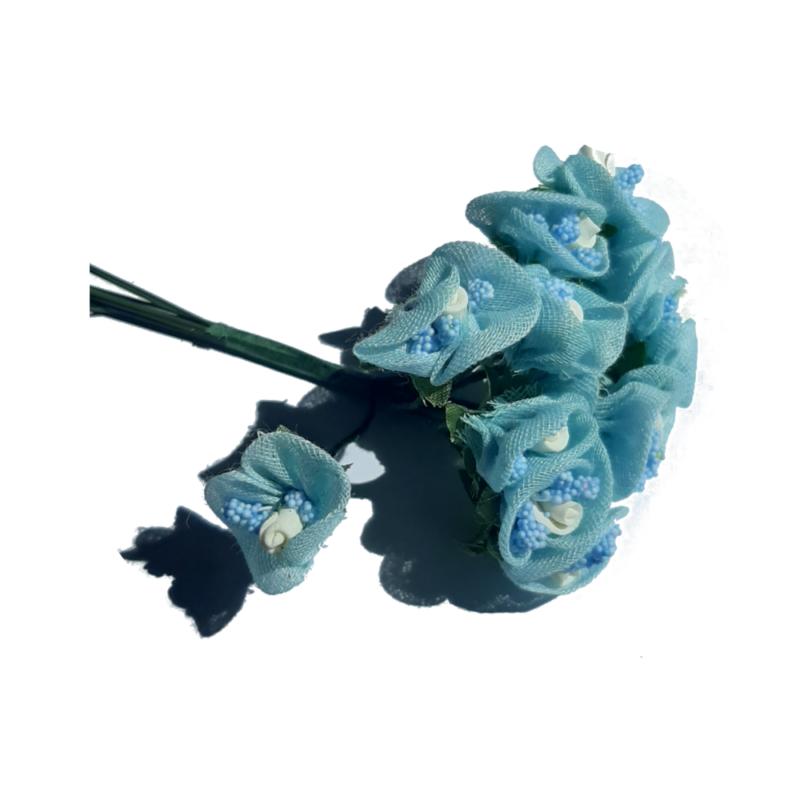rose pistil bleu
